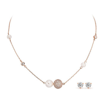 Pica LéLa CINDERELLA Pendant Necklace + Starlight Earrings