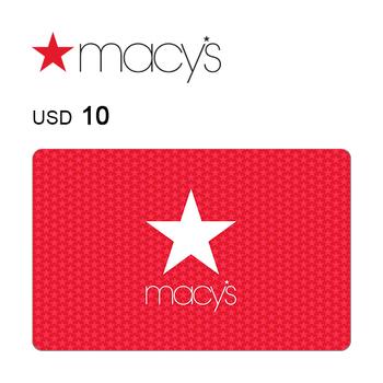 Macy's e-Gift Card $10