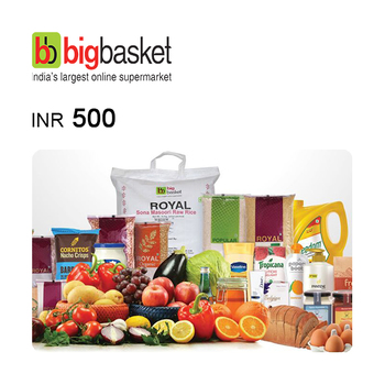 BigBasket e-Gift Voucher INR500