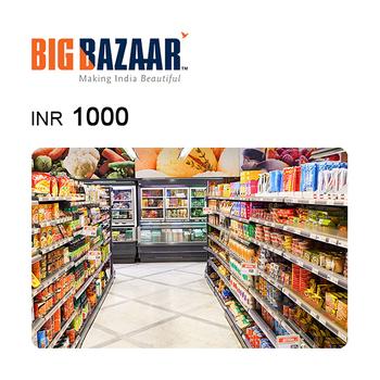 Big Bazaar e-Gift Voucher INR1000