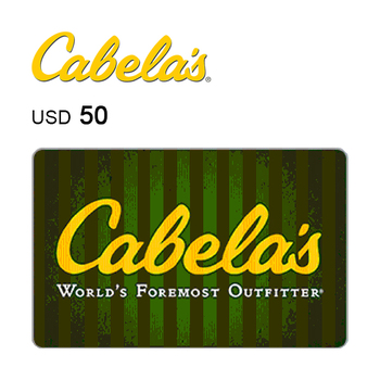 Cabela's e-Gift Card $50