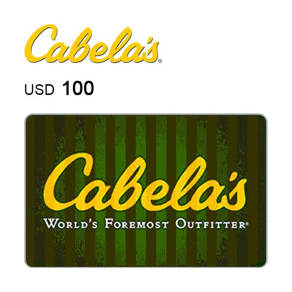 Cabela's e-Gift Card $100Image