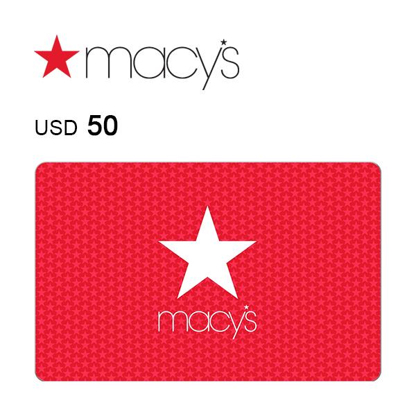 Macy's e-Gift Card $50Image