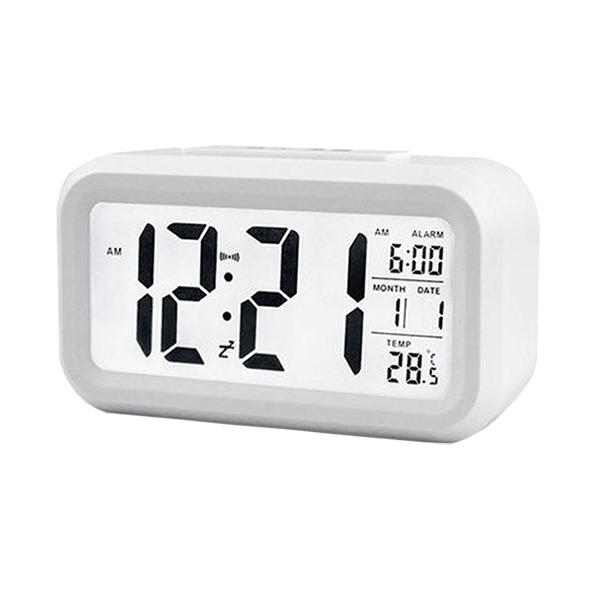 Trends Silent Desk Smart Digital Alarm ClockImage