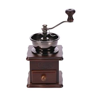 Trends Manual Mini Wood Coffee Grinder