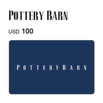 Pottery Barn e-Gift Card $100