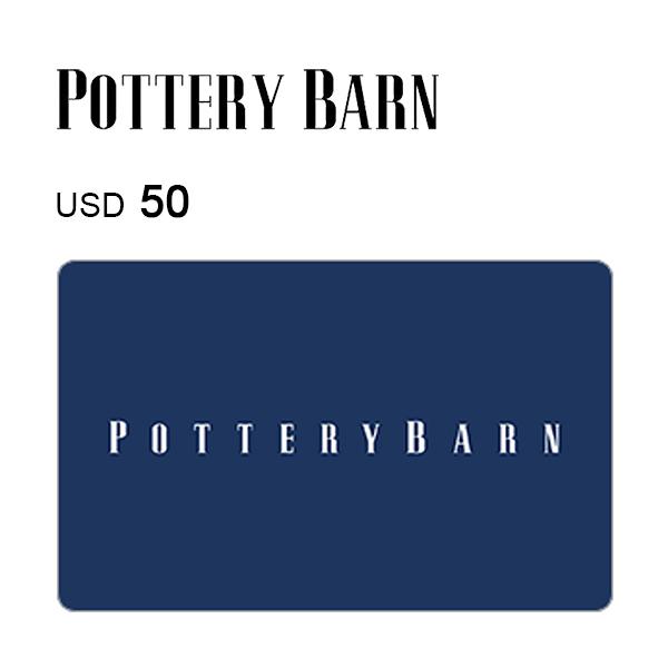 Pottery Barn e-Gift Card $50Image