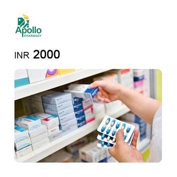 Apollo Pharmacy e-Gift Voucher INR2000