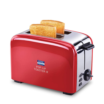 KENT Pop-Up Toaster - Red