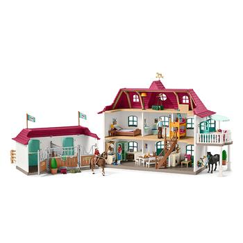 Schleich Pferdehof mit Wohnhaus und Stall