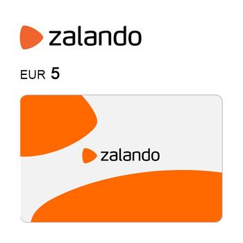Tarjeta regalo de 5€ para Zalando