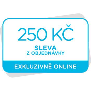 Voucher na slevu 250 Kč z objednávky při dalším nákupu