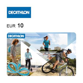 Cartão de Oferta da Decathlon – Código Digital 10€
