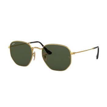 Ray-Ban Hexagonal Flat Lenses Unisex Sunglasses RB3548N-001