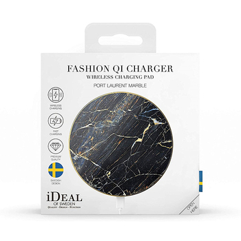 iDeal of Sweden Qi Wireless Charging Pad - Port Laurent Marble