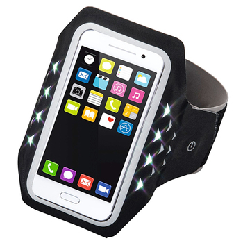 Hama RUNNING Sports Arm Band with LED for Smartphones
