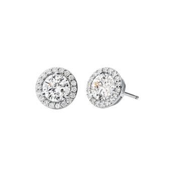 Michael Kors HALO Sterling Silver Stud Earrings