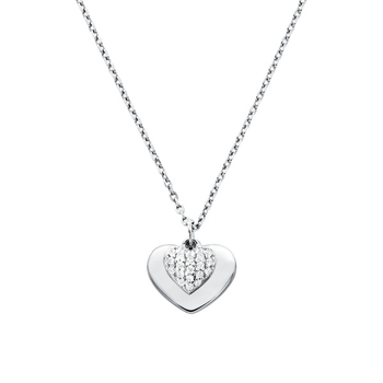 Michael Kors LOVE Sterling Silver Necklace
