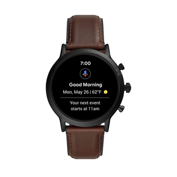 Fossil CARLYLE HR Smartwatch - Brown Leather