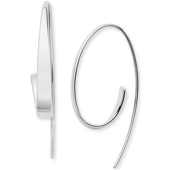 Skagen KARIANA Silver-Tone Curl Earrings