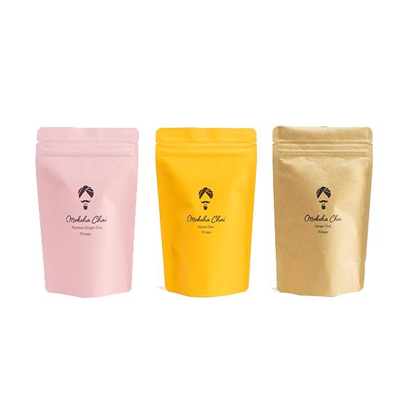 Moksha Masala Chai Tea Bags - Variety PackImage
