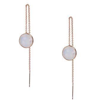Otazu Ivy White Calm Earrings