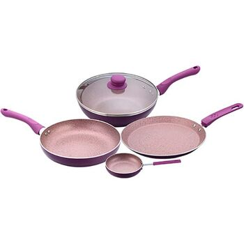 Wonderchef ROYAL VELVET Cookware Set 4pcs