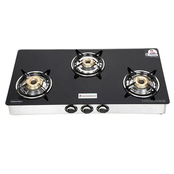 Wonderchef ZEST 3-Burner Glass Cooktop
