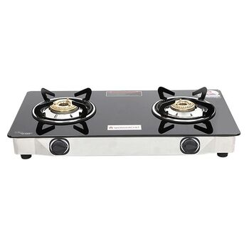 Wonderchef ZEST 2-Burner Glass Cooktop