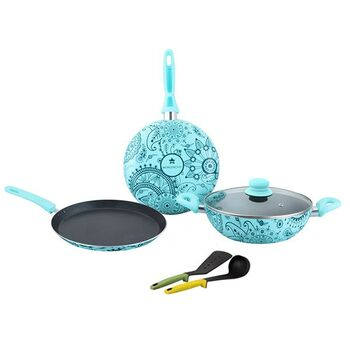 Wonderchef OSCAR BLU DOPPIO Cookware Set 4pcs