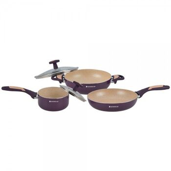 Wonderchef BURLINGTON Cookware Set 3pcs