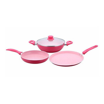 Wonderchef FRENCH BLOSSOM Cookware Set 4pcs