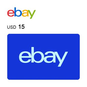 eBay e-Gift Card $15