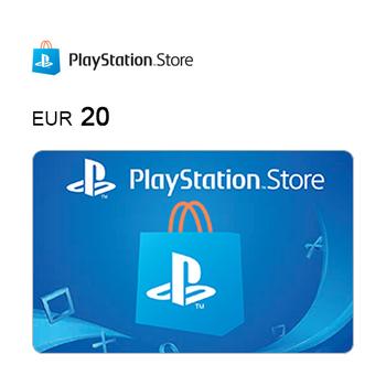Cartão de Oferta da PlayStation®Store – Código Digital 20€