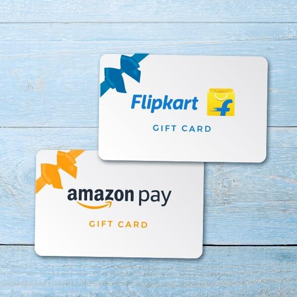 InterMiles Raffle − Amazon.in & Flipkart e-Gift Card INR 50,000Image