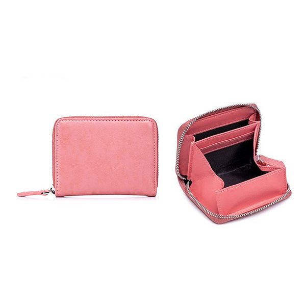 Trends Leather RFID Card Holder & Coin PurseImage