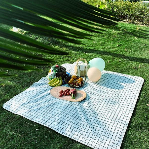 Trends Foldable Waterproof Picnic Mat/Beach BlanketImage