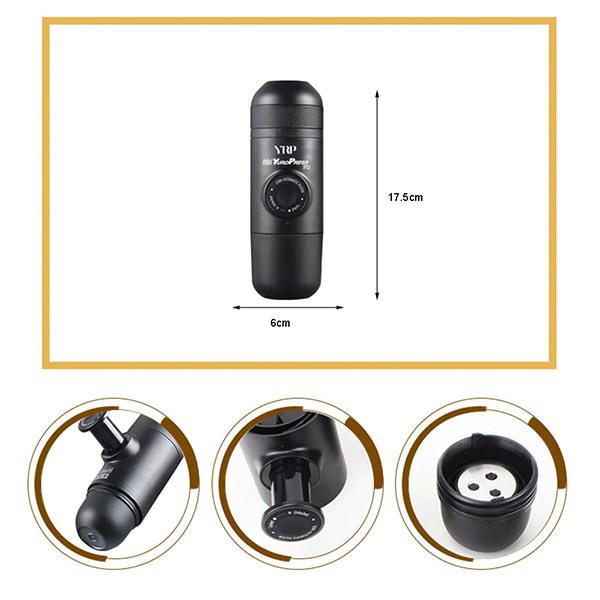 Trends Portable Manual Pressure Coffee MakerImage