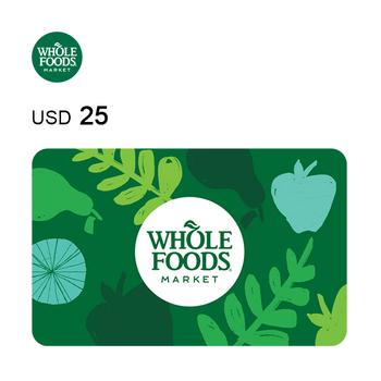 Whole Foods Market e-Gift Card $25