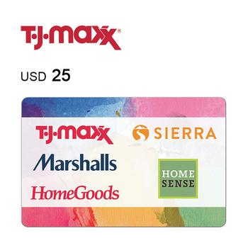 T.J. Maxx e-Gift Card $25