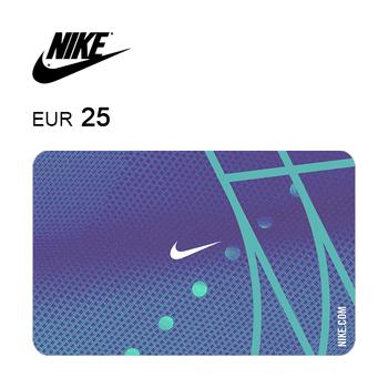 Tarjeta regalo de 25€ para Nike