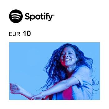 Tarjeta regalo de 10€ para Spotify Premium