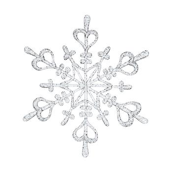 Estrela Decorativa FLAKE da Koziol