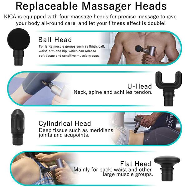 Trends Mini Portable Musculofascial Massage GunImage