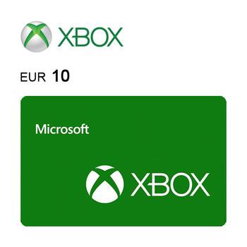 Carte cadeau Xbox de 10€