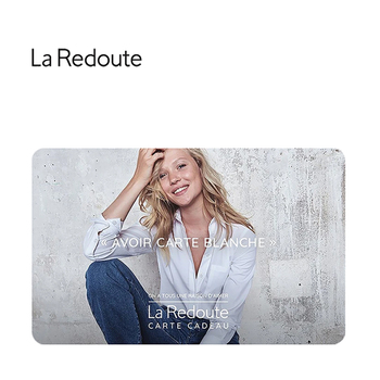 Carte cadeau La Redoute