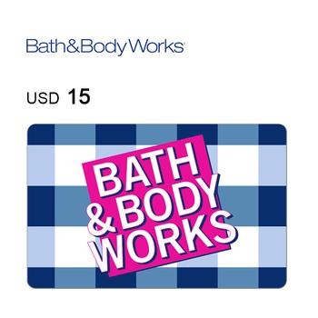Bath & Body Works e-Gift Card $15