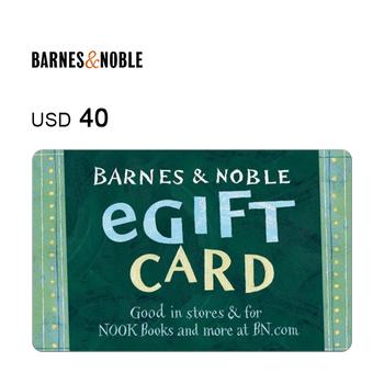 Barnes & Noble e-Gift Card $40