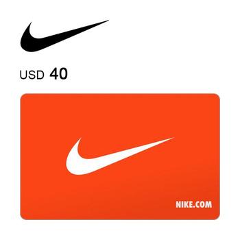Nike e-Gift Card $40