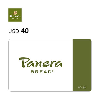 Panera Bread e-Gift Card $40